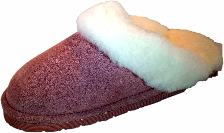 Ciabatta's Women Sheepskin Slippers Pink Size XL