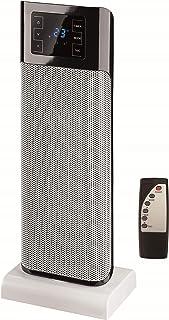 Triomph ETF1483 2000 W de cerámica ventilador de la torre, 220 V, Blanco