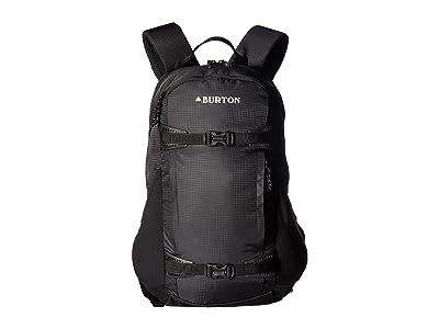 Burton Dayhiker 25L (True Black Ripstop 1) Day Pack Bags