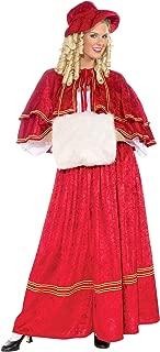 Forum Novelties Women's Christmas Caroler Costume