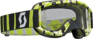 Scott 89 SI Youth Pro Goggles with Chrome Lens (Apek White/Green)