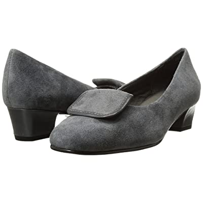 David Tate Ariana (Gray Suede) Women