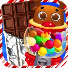 Chocolate Christmas Candy & Bubble Gum - Kids Holiday Xmas Dessert Maker Games FREE