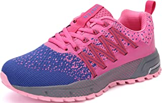 SOLLOMENSI Running Shoes Mens Womens Trainers Lightweight Outdoor Sports Shoes Athletic Gym Fitness Walking Run Jogging Wa...