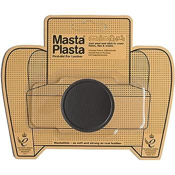 MastaPlasta - Parches AUTOADHESIVOS para reparación de Cuero y Otros Tejidos. MARRÓN Oscuro. Elije el tamaño y el diseño. Primeros Auxilios para sofás, Asientos de Coche, Bolsos, Chaquetas