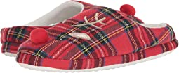 Plaid Scuff with Applique