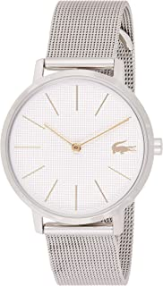 ساعة كوارتز للنساء من لاكوست، عرض انالوج وسوار ستانلس ستيل 2001078