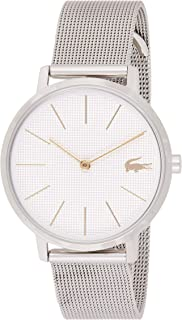Lacoste Womens Quartz Watch, Analog Display and Stainless Steel Strap 2001078