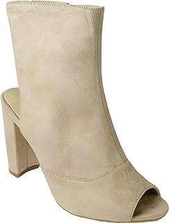 BeMeesh Femmes Fille Chaussures Talon Haut Escarpins Zip Lateral Cheville