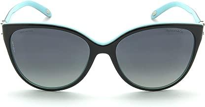 Tiffany & Co. TF 4089 B Women Cat Eye Polarized Gradient Sunglasses 8055T3