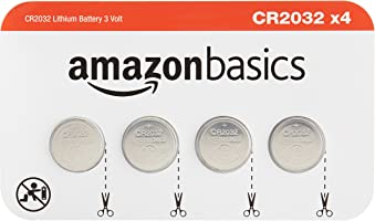 AmazonBasics CR2032 Lithium Coin Cell 4 Pack
