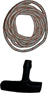 4.5mm Diameter Stihl Recoil Starter Rope (6 Feet) and Starter Handle Pull Cord 2Piece Bundle