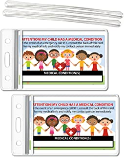 emergency id for kids