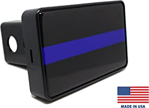 Bright Hitch - Thin Blue Line Hitch Cover