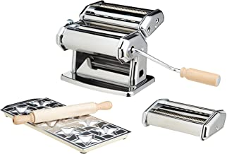 Imperia IMP508 Machine à Pâtes Acier Chromé
