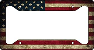 patriotic license plate frames