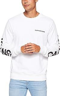 Calvin Klein Jeans Men's Institutional Back Logo Regular Fit Crew Neck