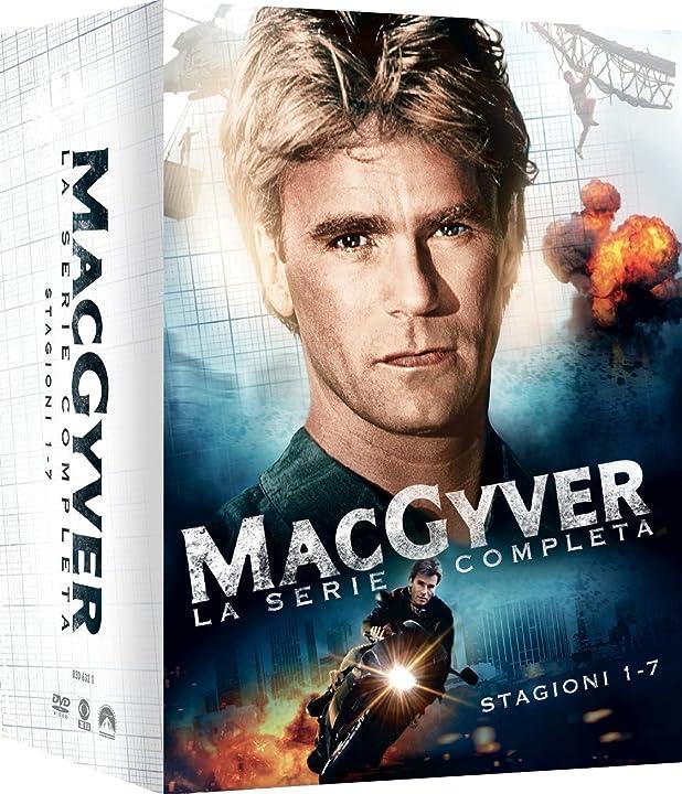 Macgyver stg.1-7 (box 38 dvd serie completa) B015WS295I