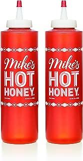 Mike's Hot Honey, 24 oz Chef's Bottle (2 Pack), Honey with a Kick, Sweetness & Heat, 100% Pure Honey, Gluten-Free & Paleo