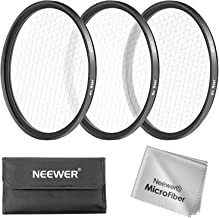 Neewer 67MM 3 Pieces Points Star Lens Filters Kit for Canon EOS Rebel T5i T4i T3i T3 T2i T1i DSLR Camera with a 18-135MM Zoom Lens, Made of HD Glass and Aluminum Frame Material (Black)