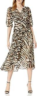 Calvin Klein Women's Maxi Wrap Dress