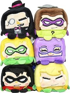 Wish Factory Kawaii Cubes Series 1 Small DC Character Plush - 6 Pack