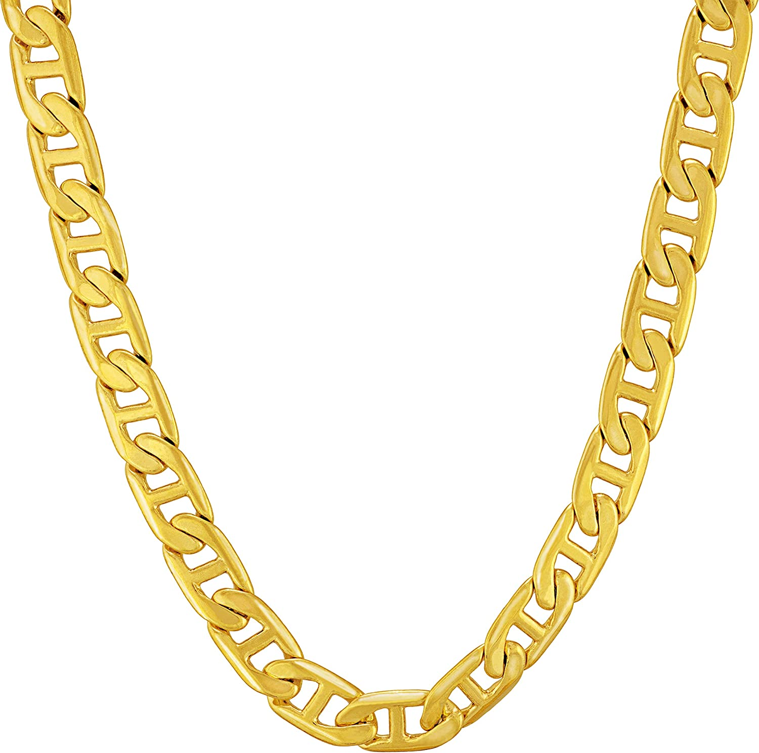 In stock favorite Lifetime Jewelry 5mm Mariner Link Chain Necklace Men for Women