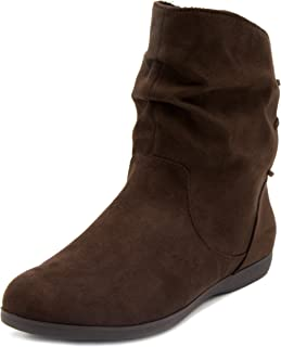 Women's Brooke Slouched Flat Ankle Boot Bootie