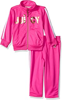 Juicy Couture Baby Girls 2 Pieces Track Pants Set