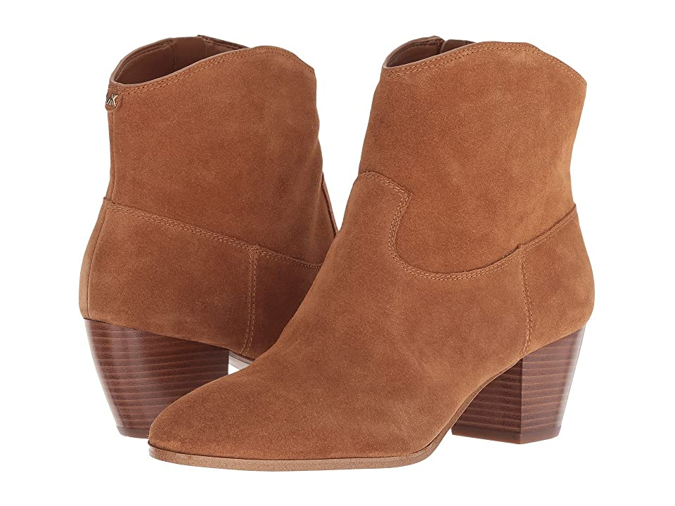 MICHAEL Michael Kors Avery Ankle Boot (Acorn Sport Suede) Women
