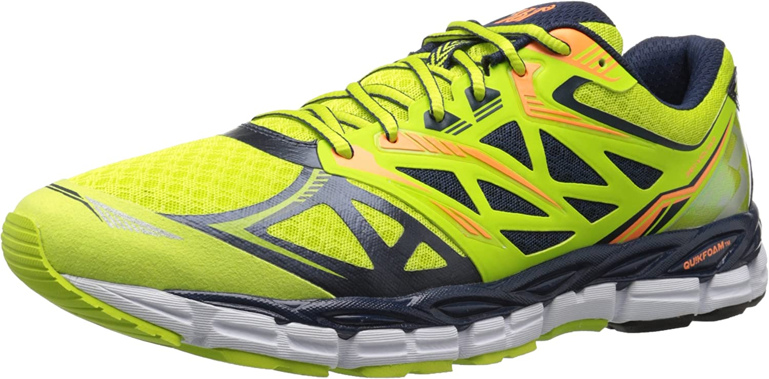 361 Men's Voltar-M Running shoes, Limeade Midnight, 8.5 2E US