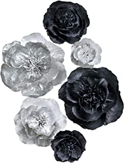 Best black silver flowers Reviews