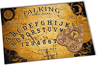 Wiccan Star Wooden Ouija Board game with Planchette and detailed instruction