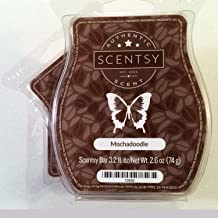 Scentsy, Mochadoodle, Wickless Candle Tart Warmer Wax 3.2 Oz Bar, 3-pack (3)