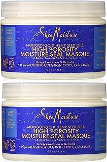 Shea Moisture High Porosity Seal Masque, 12 Oz (2 Pack)