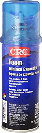 CRC Minimal Expansion Foam Sealant, 12 oz Aerosol Can, Off-White/Yellow