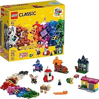Lego Classic 11004 Ventanas Creativas, Building Kit de 450 P