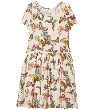 PEEK Candice Butterfly Dress (Toddler/Little Kids/Big Kids) (Print) Girl