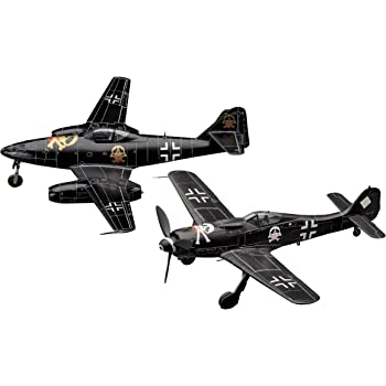 ハセガワ 1/72 クリエイターワークスシリーズ 「ベルリンの黒騎士」フォッケウルフ Fw190D-9 & メッサーシュミット Me262A-1a 64727