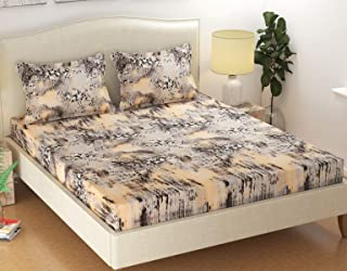 innovative edge Elastic Fitted bedsheets King Size |Fitted bedsheets King Size with Elastic|Bed Sheet