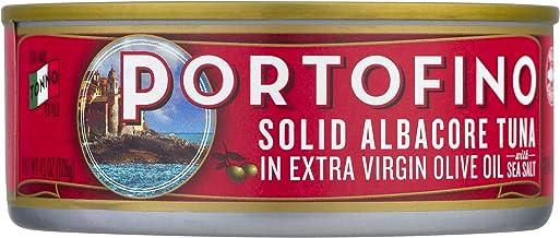 Portofino Solid Albacore Tuna In Extra Virgin Olive Oil – 4.5oz Can (Pack of 12)