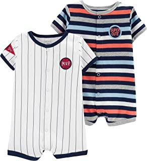 Baby Boys' 2-Pack Snap-up Romper
