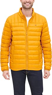 Men's Lightweight Water Resistant Packable Down Puffer Jacket (Standard and Big & Tall)