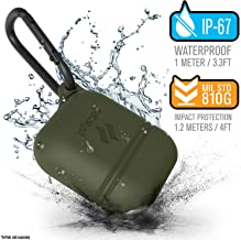 Catalyst Premium Quality Waterproof Shock Resistant Case for Apple AirPods (Army Green)