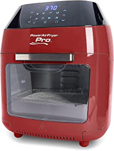 Air Fryer XL Power Oven 8-qt with Accessories and Recipe Booklet (Renewed)