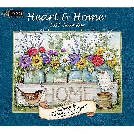 LANG HEART&HOME 2022年 壁掛けカレンダー