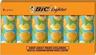 BIC Special Edition Favorite Series Lemon Lighters, Set of 6