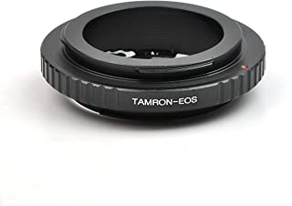 PixcoLens Mount Adapter with Focus Adjustable Aperture EMF AF Confirmation Chip, Tamron Adaptall II Lens to Canon EOS Camera Such as EOS 7D and 60D