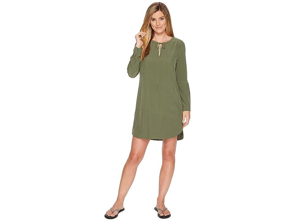 Prana Natassa Dress (Forest Green) Women