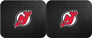 FANMATS NHL New Jersey Devils Vinyl 2-Pack Utility Mats